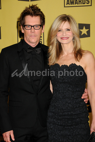 15 January 2010 - Hollywood, California - Kevin Bacon and Kyra Sedgwick. 15th Annual Critics' Choice Movie Awards - Arrivals held at the Hollywood Palladium. Photo Credit: Byron Purvis/AdMedia