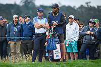 Danny Willett (GBR) looks over his lie on 6 during round 2 of the 2019 US Open, Pebble Beach Golf Links, Monterrey, California, USA. 6/14/2019.<br /> Picture: Golffile | Ken Murray<br /> <br /> All photo usage must carry mandatory copyright credit (© Golffile | Ken Murray)