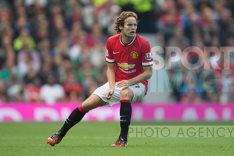 Daley Blind of Manchester United - Manchester United vs. QPR - Barclay's Premier League - Old Trafford - Manchester - 13/09/2014 Pic Philip Oldham/Sportimage