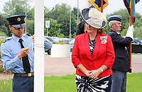 Bedfordshire - Armed Forces Day Flag Raising event at Central Bedfordshire Council offices, Priory House, Chicksands, Beds. Presided over by the Lord Lieutenant of Bedfordshire, Helen Nellis and the High Sheriff of Bedfordshire - Meryl Dolling  - June 24th 2019<br /> <br /> Photo by Keith Mayhew