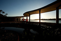 Belo Horizonte_MG, Brasil...A Casa do Baile, faz parte do conjunto arquitetonico da Pampulha, criado pelo arquiteto Oscar Niemeyer na decada de 40 em Belo Horizonte, Minas Gerais...Casa do Baile (The Ball House): Amongst the attractions in the Pampulha Architectonic Complex, the Casa do Baile synthesizes peculiar concepts of NiermeyerÕs work in different period in Belo Horizonte, Minas Gerais...Foto: LEO DRUMOND / NITRO