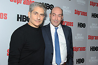 NEW YORK, NY - January 9: Michael Imperioli and John Ventimiglia at HBO And Split Screens Festival The Sopranos 20th Anniversary panel discussion at the SVA Theatre in New York City on January 9, 2019. Credit: John Palmer/MediaPunch