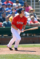 1B Anthony Rizzo of the Portland Sea Dogs in action vs. the Trenton Thunder at Hadlock Field May 23, 2010 in Portland, ME (Photo by Ken Babbitt/Four Seam Images)