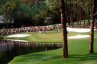 2001 Augusta GA, USA; The Masters 2001 The Masters 2001 on the 16th green