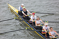 Crew: 122   Quintin BC/Tideway Scullers School/Mortlake AABC/Kingston Rowing Club/London RC   W.MasB.8+<br /> <br /> Veterans' Head of the River Race 2018<br /> <br /> To purchase this photo, or to see pricing information for Prints and Downloads, click the blue 'Add to Cart' button at the top-right of the page.