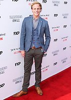HOLLYWOOD, LOS ANGELES, CA, USA - JULY 14: Chris Geere arrives at the Los Angeles Premiere Of FX's 'You're The Worst' And 'Married' held at Paramount Studios on July 14, 2014 in Hollywood, Los Angeles, California, United States. (Photo by Xavier Collin/Celebrity Monitor)
