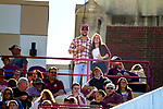 Justin Wallheiser and his fiance Lacey Kirkland at the Florida State vs Delaware State NCAA football game i Tallahassee, Florida.