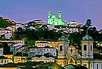 Cidade de Ouro Preto, Minas Gerais. 1997.  Foto de Rogério Reis
