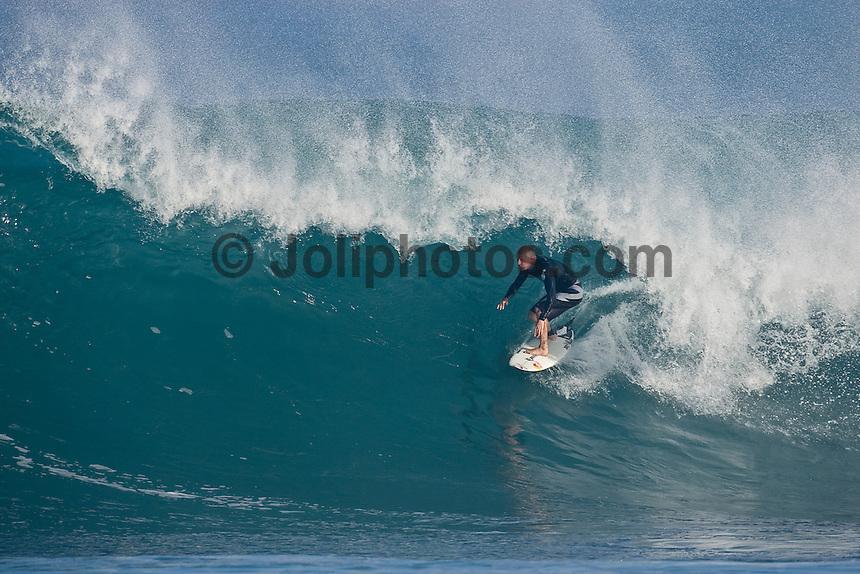 MICK FANNING (AUS) Off The Wall-Backdoor, North Shore of Oahu, Hawaii. Photo: joliphotos.com