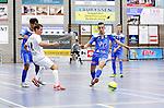 2015-10-30/ Voetbal / Seizoen 2015-2016/ Malle Beerse- Futsal Topsport Antwerpen / foto mpics.be / Mohammed El Fahsi weet de bal te onderscheppen voor Antwerpen.