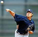 16 March 2007: New York Yankees pitcher Chien-Ming Wang on the mound against the Houston Astros at Osceola County Stadium in Kissimmee, Florida...Mandatory Photo Credit: Ed Wolfstein Photo