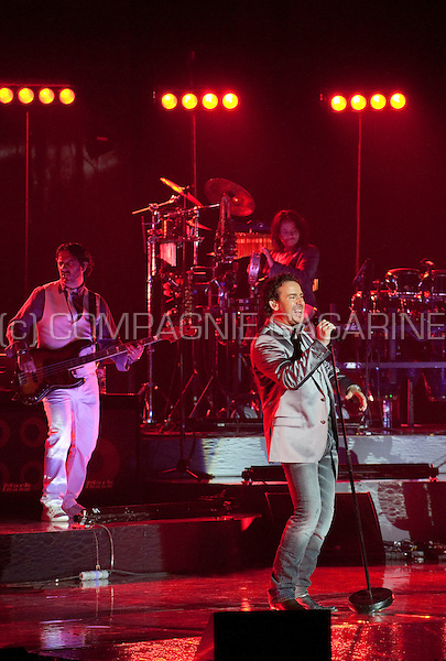 "Dutch singer Marco Borsato with his ""3Dimensies"" concert in the Sportpaleis, Antwerp (Belgium, 17/05/2011)"