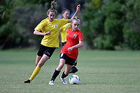 Football - National Age Group Tournament at Petone Memorial Park, Lower Hutt, New Zealand on Saturday 14 December 2019. <br /> Photo by Jo Hawes. <br /> www.photowellington.photoshelter.com