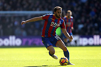 Andros Townsend of Crystal Palace during Crystal Palace vs Tottenham Hotspur, Premier League Football at Selhurst Park on 25th February 2018