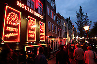 Red Light District in Amsterdam,Netherlands - Photo by paulo Amorim