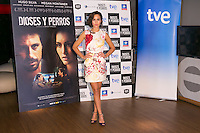 "Spanish Actress Megan Montaner attends the ""DIOSES Y PERROS "" Movie presentation at Kinepolis Cinema in Madrid, Spain. October 6, 2014. (ALTERPHOTOS/Carlos Dafonte) /nortephoto.com"