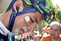 Imanol Erviti during the stage of La Vuelta 2012 between Logroño and Logroño.August 22,2012. (ALTERPHOTOS/Paola Otero) /NortePhoto.com<br /> <br /> **SOLO*VENTA*EN*MEXICO**<br /> **CREDITO*OBLIGATORIO**<br /> *No*Venta*A*Terceros*<br /> *No*Sale*So*third*<br /> *** No Se Permite Hacer Archivo**<br /> *No*Sale*So*third*