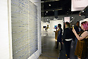 MIAMI BEACH, FL - DECEMBER 04: People look at artwork at the Van de Weghe Gallery during Art Basel Miami Beach on December 4, 2019 in Miami Beach, Florida. Art Basel represents over 250 art galleries onsite at the Miami Beach Convention Center. It is considered one of the world's largest art festivals and has art events throughout the city.  ( Photo by Johnny Louis / jlnphotography.com )