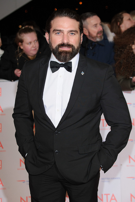 Ant Middleton<br /> arriving for the National Television Awards 2018 at the O2 Arena, Greenwich, London<br /> <br /> <br /> ©Ash Knotek  D3371  23/01/2018