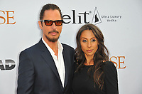www.acepixs.com<br /> <br /> April 12 2017, LA<br /> <br /> Chris Cornell and Vicky Cornell arriving at the premiere of 'The Promise' on April 12, 2017 in Hollywood, California<br /> <br /> By Line: Peter West/ACE Pictures<br /> <br /> <br /> ACE Pictures Inc<br /> Tel: 6467670430<br /> Email: info@acepixs.com<br /> www.acepixs.com