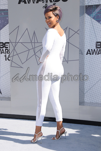 26 June 2016 - Los Angeles. LisaRaye McCoy. Arrivals for the 2016 BET Awards held at the Microsoft Theater. Photo Credit: Birdie Thompson/AdMedia