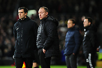 Steve Cooper Head Coach of Swansea City during the Sky Bet Championship match between Fulham and Swansea Citry at Craven Cottage in London, England, UK. Wednesday February 26, 2020.