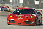 31 August 2007: The Risi Competizione Ferrari F430  GT driven by Mika Salo (FIN) and Jaime Melo (BRA) at the Detroit Sports Car Challenge presented by Bosch, Detroit, MI