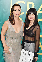 HOLLYWOOD, CA - AUGUST 07: Ming-Na Wen (L) and daughter Michaela Wen arrive at the Warner Bros. Pictures' 'Crazy Rich Asians' premiere at the TCL Chinese Theatre IMAX on August 7, 2018 in Hollywood, California.<br /> CAP/ROT/TM<br /> &copy;TM/ROT/Capital Pictures