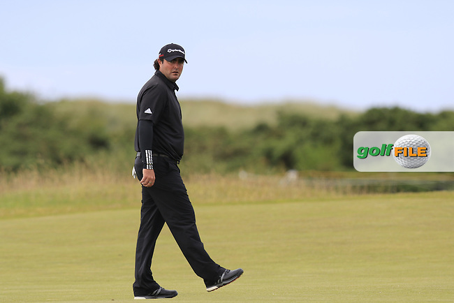 Steven Bowditch (AUS) on the 14th hole during Sunday's Round 3 of the 144th Open Championship, St Andrews Old Course, St Andrews, Fife, Scotland. 19/07/2015.<br /> Picture Eoin Clarke, www.golffile.ie