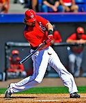 7 March 2011: Washington Nationals' outfielder Jayson Werth in action during a Spring Training game against the Houston Astros at Space Coast Stadium in Viera, Florida. The Nationals defeated the Astros 14-9 in Grapefruit League action. Mandatory Credit: Ed Wolfstein Photo