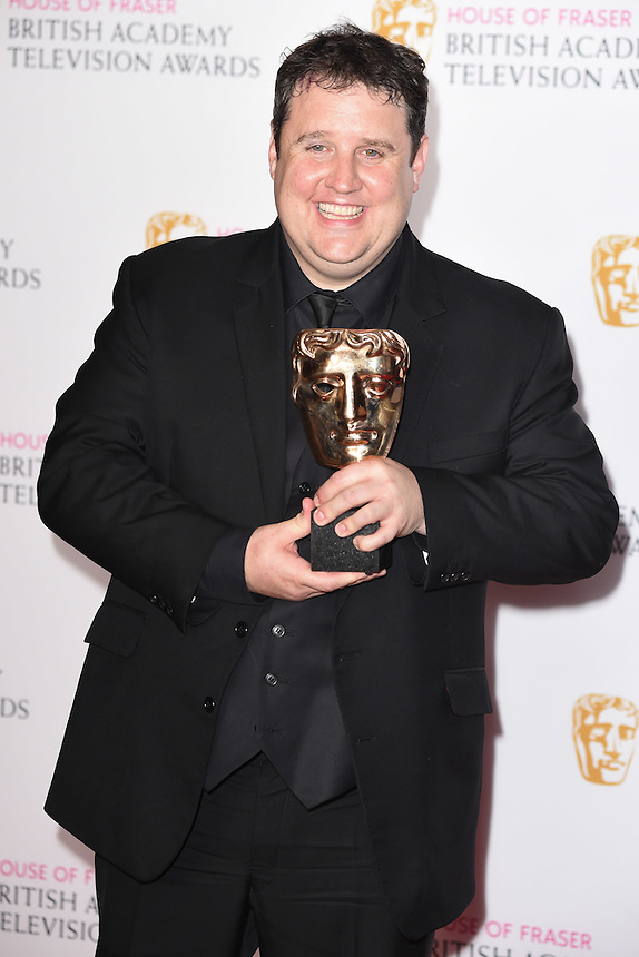 Peter Kaye<br /> in the winners room at the 2016 BAFTA TV Awards, Royal Festival Hall, London<br /> <br /> <br /> &copy;Ash Knotek  D3115 8/05/2016
