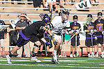 San Diego, CA 05/25/13 - Colin  Pennington (Westview #21) and Troy Durie (Carlsbad #14) in action during the 2013 Boys Lacrosse San Diego CIF DIvision 1 Championship game.  Westview defeated Carlsbad 8-3. in action during the 2013 Boys Lacrosse San Diego CIF DIvision 1 Championship game.  Westview defeated Carlsbad 8-3.