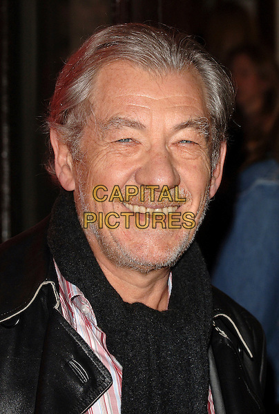 "SIR IAN McKELLEN.At the World Premiere of ""Dirty Dancing: The Classic Story On Stage"", Aldwych Theatre, London, England,.October 24th 2006..portrait headshot McKellan.Ref: BEL.www.capitalpictures.com.sales@capitalpictures.com.©Tom Belcher/Capital Pictures."