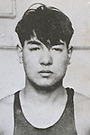 Tsutomu Ohyokota (JPN), 1932 - Swimming : A portrait of Tsutomu Ohyokota of Japan. (Photo by Kingendai Photo Library/AFLO)[2373]