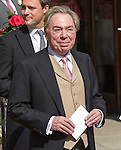 The Wedding of Poppp Delevigne and James Cook<br /> St Paul's Church, Knightsbridge 17.5.2014<br /> <br /> <br /> Lord Andrew Lloyd Webber