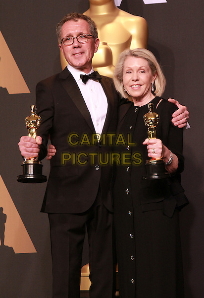 26 February 2017 - Hollywood, California - David Wasco, Sandy Reynolds-Wasco. 89th Annual Academy Awards presented by the Academy of Motion Picture Arts and Sciences held at Hollywood &amp; Highland Center. <br /> CAP/ADM/TB<br /> &copy;TB/ADM/Capital Pictures