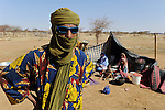 BURKINA FASO Dori , malische Fluechtlinge, vorwiegend Tuaregs, im Fluechtlingslager Goudebo des UN Hilfswerks UNHCR, sie sind vor dem Krieg und islamistischem Terror aus ihrer Heimat in Nordmali geflohen / BURKINA FASO Dori, malian refugees, mostly Touaregs, in refugee camp Goudebo of UNHCR, they fled due to war and islamist terror in Northern Mali , WEITERE MOTIVE ZU DIESEM THEMA SIND VORHANDEN!! MORE PICTURES ON THIS SUBJECT AVAILABLE!!