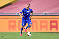 Franck Ribery of Fiorentina<br /> during the Serie A football match between AS Roma and ACF Fiorentina at stadio Olimpico in Roma (Italy), July 26th, 2020. Play resumes behind closed doors following the outbreak of the coronavirus disease. <br /> Photo Antonietta Baldassarre / Insidefoto