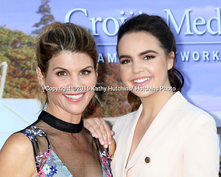 LOS ANGELES - JUL 27:  Lori Loughlin, Bailee Madison at the Hallmark Summer 2016 TCA Press Tour Event at the Private Estate on July 27, 2016 in Beverly Hills, CA