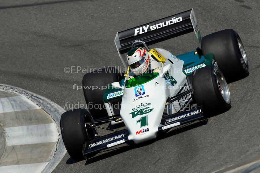 Michael Fitzgerald, #1 (ex-Keke Rosberg, 1983 Williams FW08C Grand Prix Car)