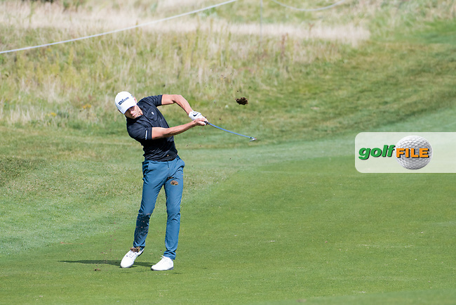 Joakim Lagergreen (SWE) in action on the 15th hole during the 1st round at the KLM Open, The International, Amsterdam, Badhoevedorp, Netherlands. 12/09/19.<br /> Picture Stefano Di Maria / Golffile.ie<br /> <br /> All photo usage must carry mandatory copyright credit (© Golffile | Stefano Di Maria)