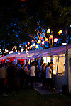 The night noodle festival, part of Sydney's Good Food Month, held every October througout the city. This festival is held in Hyde Park North and features noodle stands and other Asian inspired activities.