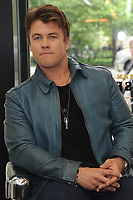 www.acepixs.com<br /> May 11, 2017  New York City<br /> <br /> Luke Hemsworth uses Old Spice Hair stylers at Made Man Barber Shop on May 11, 2017 in New York City.<br /> <br /> Credit: Kristin Callahan/ACE Pictures<br /> <br /> Tel: 646 769 0430<br /> Email: info@acepixs.com