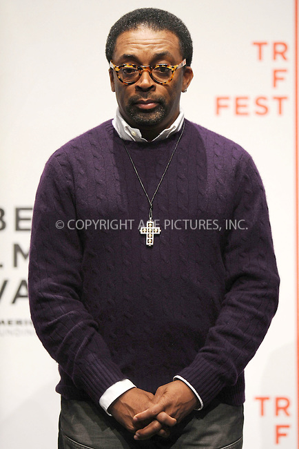 WWW.ACEPIXS.COM . . . . . ....April 21 2009, New York City....Director Spike Lee at the 8th annual Tribeca Film Festival opening press conference at the Tribeca Performing Arts Center on April 21, 2009 in New York City.....Please byline: KRISTIN CALLAHAN - ACEPIXS.COM.. . . . . . ..Ace Pictures, Inc:  ..tel: (212) 243 8787 or (646) 769 0430..e-mail: info@acepixs.com..web: http://www.acepixs.com
