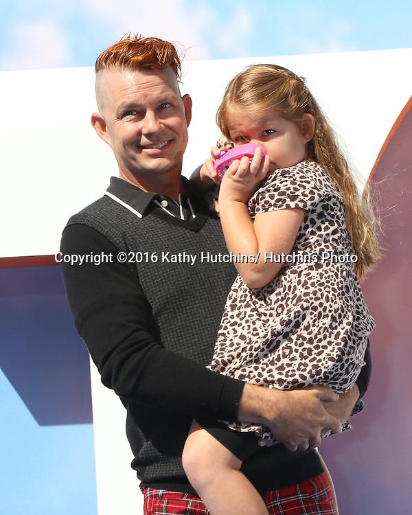 """LOS ANGELES - SEP 17:  Adrian Young, daughter at the """"Storks"""" Premiere at the Village Theater on September 17, 2016 in Westwood, CA"""