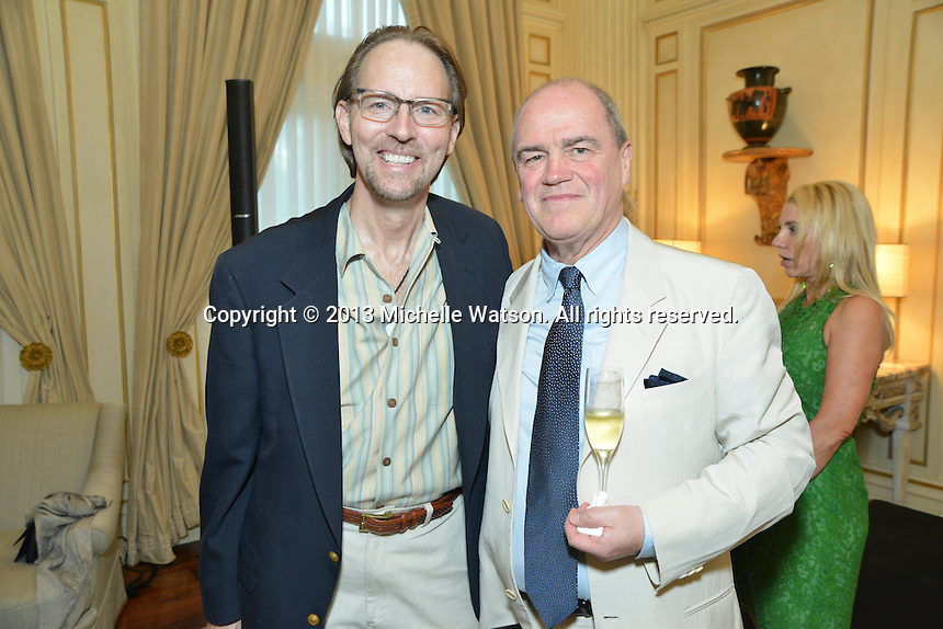 Houston Symphony Reception for Hans & Rita Graf at Chateau Carnarvon