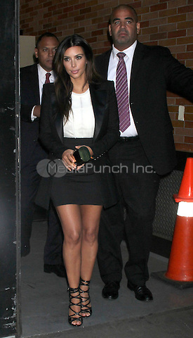 NEW YORK, NY - SEPTEMBER 13: Kim Kardashian at Good Morning America studios in New York City. © RW/MediaPunch Inc.