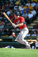 Minnesota Twins catcher Stuart Turner (85) during a Spring Training game against the Pittsburgh Pirates on March 13, 2015 at McKechnie Field in Bradenton, Florida.  Minnesota defeated Pittsburgh 8-3.  (Mike Janes/Four Seam Images)
