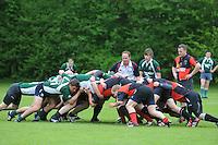RUGBY: GORREDIJK: Sportpark Kortezwaag, 26-05-2013, Friesland Cup, Drachtster Rugbyclub - RC De Wrotters (groen), ©foto Martin de Jong