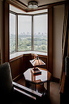 Tokyo, June 28 2013 - Suite of the Imperial Hotel designed by Frank Lloyd Wright.